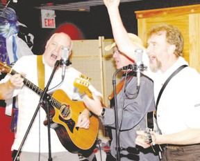 Declan Dunne and company of Three Penny Piece will have the club rocking with Irish tunes and such classics as The Canadian Tire Song, Saturday. (QMI Agency photo)