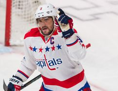 Not since Bobby Hull, in a very different National Hockey League, has anyone managed to accomplish what Alexander Ovechkin has done three times with the Washington Capitals. (QMI AGENCY/PHOTO)
