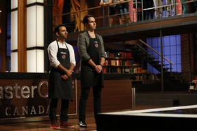 (L-R) Andrew and Cody get axed from MasterChef Canada.