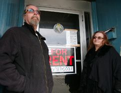 Jim Bender, with wife Angela Sjaarda, is currently awaiting sentencing for charges of selling marijuana from his former business Lady Godivas. The couple have recently closed the store down and moved to St. Williams to operate a gas bar and convenience store. (HEATHER RIVERS, Sentinel-Review)
