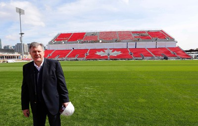 Maple Leaf Sports & Entertainment CEO Tim Leiweke as he toured the new renovations at BMO Field in Toronto  on Friday April 10, 2015. Michael Peake/Toronto Sun