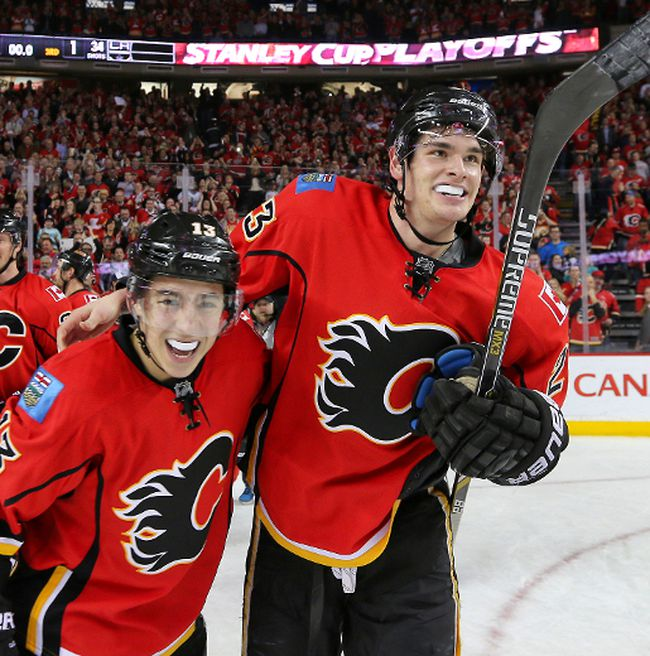 All those pre-season predictions of being near the bottom of the NHL standings, you bet the Calgary Flames remember them. Even though the Flames themselves used the words of all those detractors as motivation to march to their surprising playoff position, those predictions of a last-place season and the like didn't catch them off-guard. Photo by Al Charest/ Calgary Sun