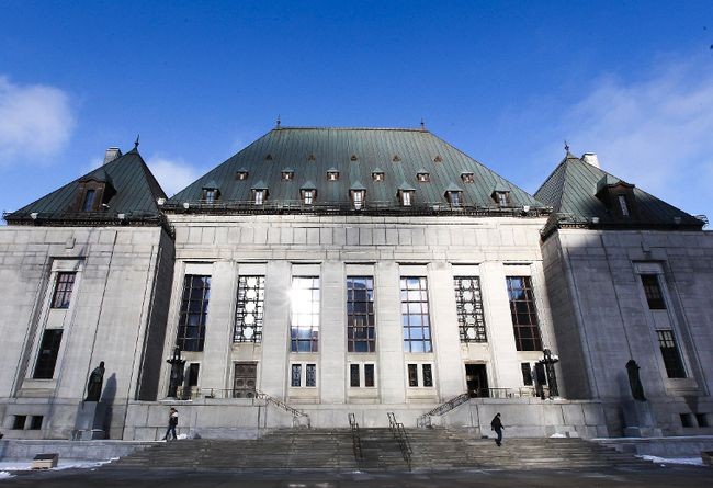 The Supreme Court of Canada is seen in Ottawa, Ont., in this file photo. (ANDRE FORGET/Postmedia Network)