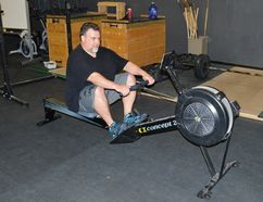 Cary Castagna competed in the CrossFit Games Open, and plans to continue his training. ( Cary Castagna Photo)