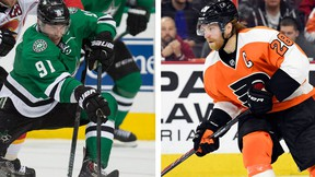 Tyler Seguin and Claude Giroux were among those named to Team Canada for the 2015 International Ice Hockey Federation Men's World Championship. (Jerome Miron and Eric Hartline USA TODAY Sports)