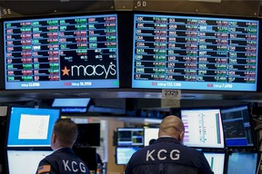 The NYSE. (REUTERS File photo)