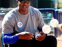 Former Toronto Blue Jay Devon White, in a 2013 photo. (DAVID BLOOM/Postmedia Network files)