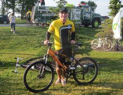 Dwayne Dyck did his first Ride to Conquer Cancer in 2009 after his wife Carol was diagnosed with lung cancer. This year, he will be riding with his daughter, who has previously battled cervical cancer. - File Photo