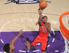 Lou Williams led the NBA (102) in drawing fouls on shots. James Harden was next at 92. (AFP)