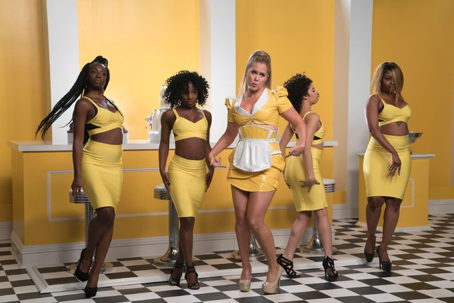 """Amy Schumer, middle, stars in Comedy Network's """"Inside Amy Schumer."""""""