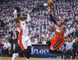Toronto Raptors' Terrence Ross and Washington Wizards Bradley' Beal in Game 1 of their playoff series on April 18. (Ernest Doroszuk, Toronto Sun)