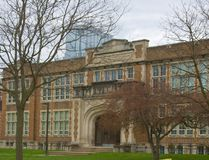 Central secondary school, at Dufferin Avenue and Waterloo Street in London, is rated the sixth-best high school in Ontario by the Fraser Institute. (Free Press file photo)