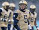 Winnipeg Blue Bombers QB Drew Willy walks off the field during a game against the Calgary Stampeders on November 1, 2014. (Al Charest/Calgary Sun)