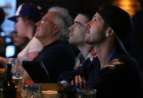 Jets fans have been able to enjoy expanded bar hours during the playoffs. (KEVIN KING/WINNIPEG SUN FILE PHOTO)