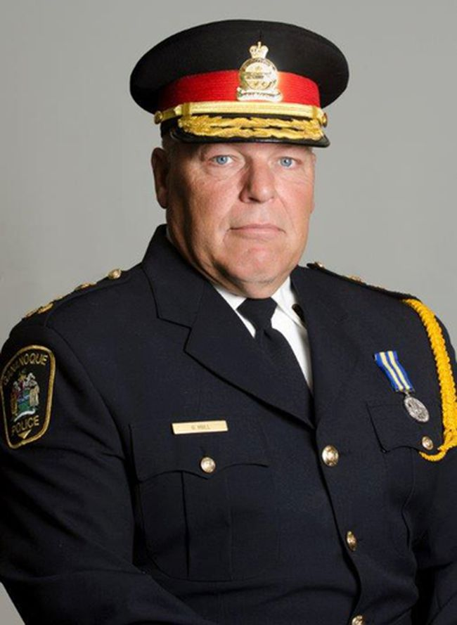 Gananoque Police Chief Garry Hull.