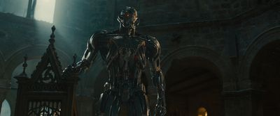 The villainous Ultron from Marvel's Avengers: Age Of Ultron.