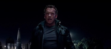 Heee's back... Arnold Schwarzenegger returns to the franchise that made him a star in Terminator Genisys - the fifth entry in the series. Opens July 1. Courtesy of Paramount Pictures.