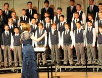 DHT file photo The Grande Prairie Boys' Choir will be joined by an orchestra for the upcoming Singing and Symphony in the City event, May 8.