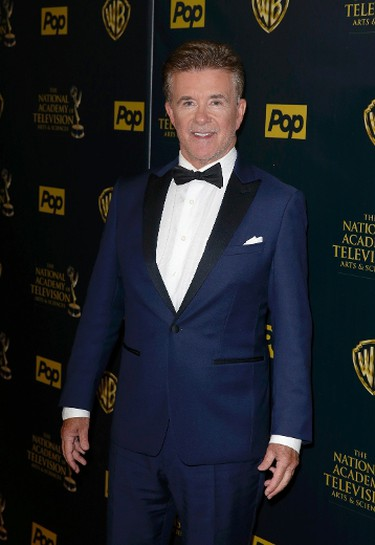 Actor Alan Thicke poses backstage at the 42nd Annual Daytime Emmy Awards in Burbank, California April 26, 2015.  REUTERS/Patrick T. Fallon