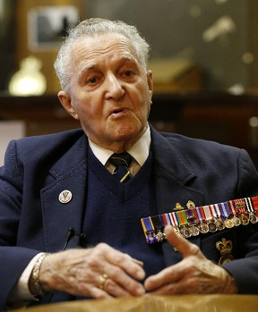 Public support is mounting for Second World War vet Art Boon and his son's work dilemma. (Michael Peake, Postmedia Network)