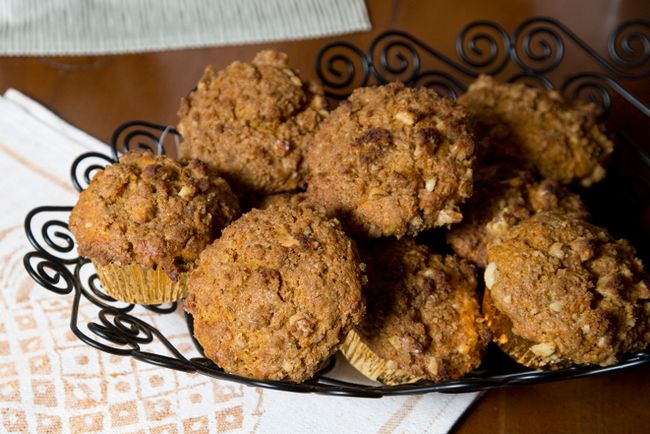 Sweet potato and maple muffins by Jill Wilcox in London, Ontario  on Monday, April 6, 2015. (DEREK RUTTAN/ The London Free Press /QMI AGENCY)