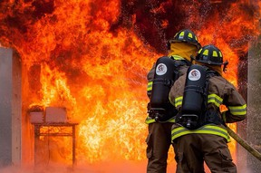 FireRein has been developing a water additive that could revolutionize the firefighting industry. (Supplied photo)