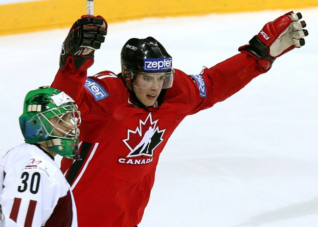 Canada opens the world championships against Latvia on Friday. The last time Sidney Crosby played at the tournament Canada beat Latvia 11-0. (Reuters)