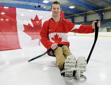 Chatham's Derek Whitson of the Canadian national sledge hockey team. (Daily News file photo)