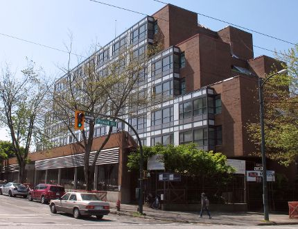 Vancouver's Downtown Eastside Remand Centre has been turned into social housing. (MICHAEL MUI, 24 HOURS)