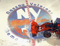 logo Ice Removed From Nassau Coliseum