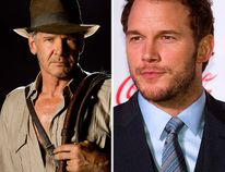 """Will Chris Pratt (right) be grabbing the whip for the next installment of the """"Indiana Jones"""" franchise? (Reuters file photo)"""
