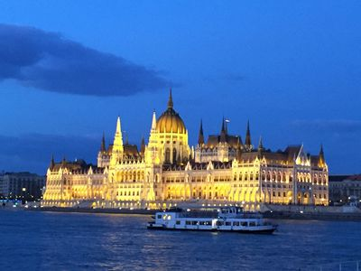 Budapest's impressive and enormous Parliament has 691 rooms and houses the country's crown jewels. ROBIN ROBINSON/TORONTO SUN