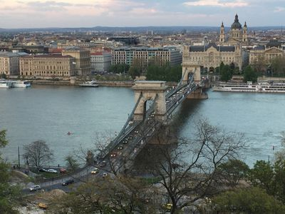 Budapest's world famous Chain Bridge spans the wide Danube River and joins Buda and Pest, which were once separate cities. ROBIN ROBINSON/TORONTO SUN