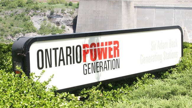 Ontario Power Generation logo (MIKE DIBATTISTA/Postmedia Network)