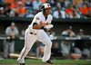 Jimmy Paredes of the Baltimore Orioles. (JOY R. ABSALON/USA TODAY Sports files)