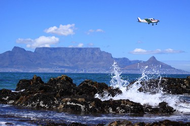 10. Cape Town Airport, South Africa Views: Incredible views of Table Mountain can be seen upon descent. (Fotolia)