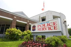 City of Kawartha Lakes Police Service headquarters on Victoria Ave. in Lindsay. (Files)