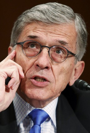 Federal Communications Commission chairman Tom Wheeler.  REUTERS/Jonathan Ernst