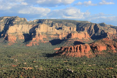 The red rock buttes and canyons in the Sedona-area are considered by some to be centres of spiritual energy. NICOLE HANN PHOTO