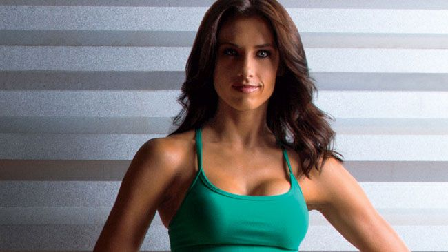 """Celebrity trainer Autumn Calabrese's """"aha moment"""" came one afternoon when she took a client out to lunch."""