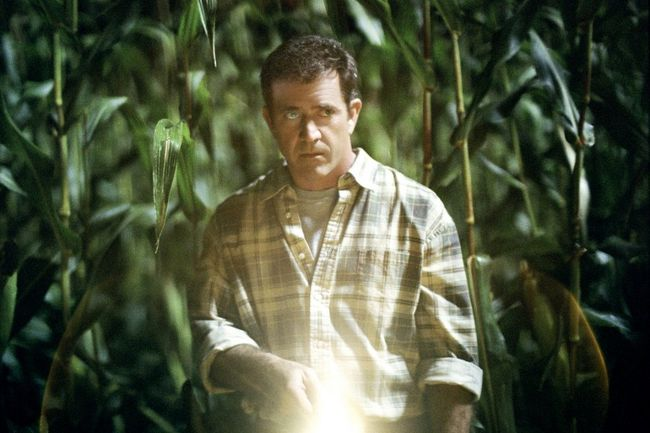 """Mel Gibson in 2002's """"Signs."""""""