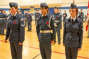 This month, the 755 Parkland Air Cadets celebrate the squadron's 50th anniversary. Over the years, the program has impacted the lives of hundreds of youth from the tri-area. On June 5, the cadets have scheduled a fundraiser dinner to raise funds for next year's program. - Photo Supplied