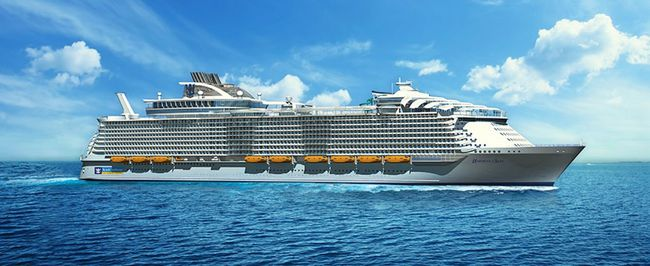 Royal Caribbean's Harmony of the Seas is set to become the world's largest cruise ship. (Handout)