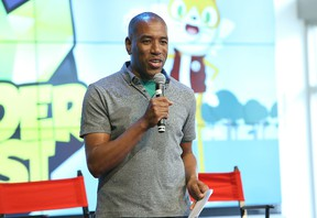 Head of YouTube Kids Malik Ducard attends the launch of the new Wonder Quest channel on YouTube and YouTube Kids App on April 24, 2015 in Los Angeles.   (Jesse Grant/Getty Images for YouTube/AFP)