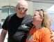 Ian Wilson, chair of University Hospitals Kingston Foundation board of directors, and Trina Young, chair of the 2015 Kingston-Quinte Ride for Dad. The 2015 ride will be held on June 6.  (Steph Crosier/The Whig-Standard)