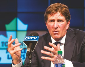 Maple Leafs coach Mike Babcock said he needed a new opportunity after 10 years coaching the Detroit Red Wings. (Craig Robertson/Toronto Sun)