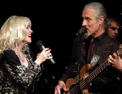 Leisa Way and Randall Kempf in Rhinestone Cowgirl: ATribute to Dolly Parton which brings summer, 2015 next week to the stage of Port Stanley Festival Theatre.