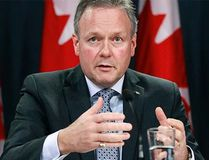 Bank of Canada governor Stephen Poloz addresses a news conference in Ottawa, Canada, in this file photo taken Dec. 10, 2014. REUTERS/Blair Gable/Files