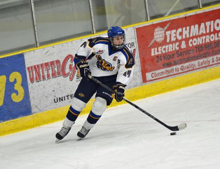 Noah Westgate has been drafted to the Spokane Chiefs in Washington. Submitted