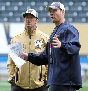 Bombers general manager and coach Mike O'Shea have put together an improved roster.